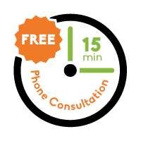 Free 15 Minute Phone Consultation Icon